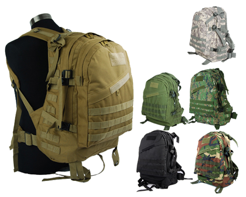 Military Tactical Molle Backpack Rucksack Hiking Hunting Camping ...