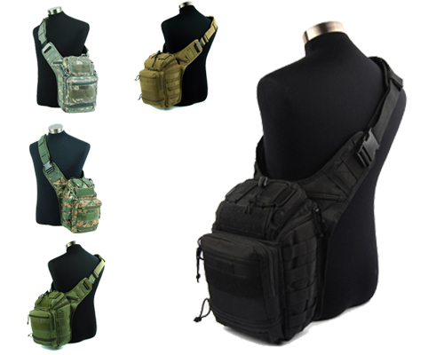 Molle Tactical Shoulder Strap Bag Pouch Backpack 2