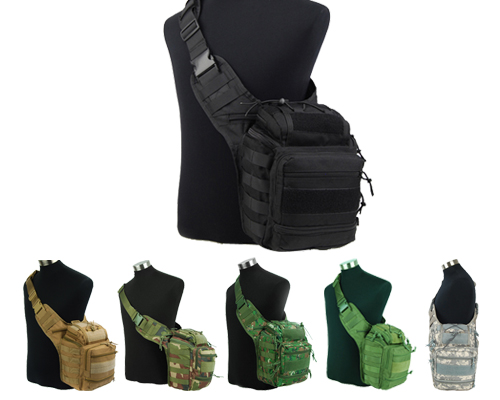 Tactical Molle Utility Shoulder Bag Tool Mag Drop Pouch Camping ...