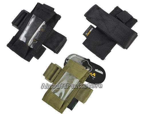 Airsoft Tactical 1000D Cordura Pouch for Dummy GPS FX101 2 Colors Black/TAN