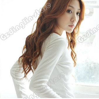 Fashion Women V-Neck Long Sleeve Cotton Casual Button Tops Blouses Short T-Shirt