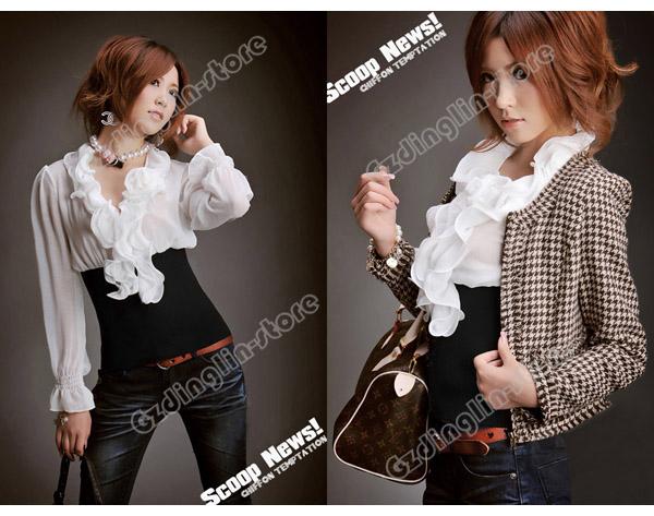 Пошив блузки из шифона - Все о моде