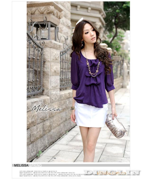 Блузка Фиолетовая