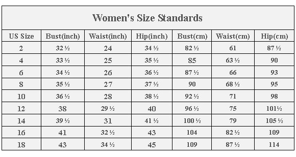 32 inches. Size 10 = 34 inches and size 12 = 36 inches.