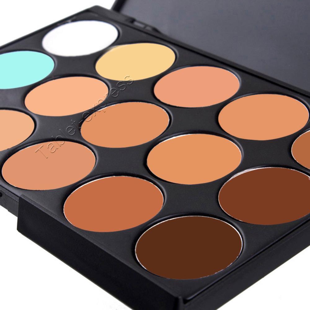 15 Colors Contour Face Cream Makeup Concealer Palette Professional ...