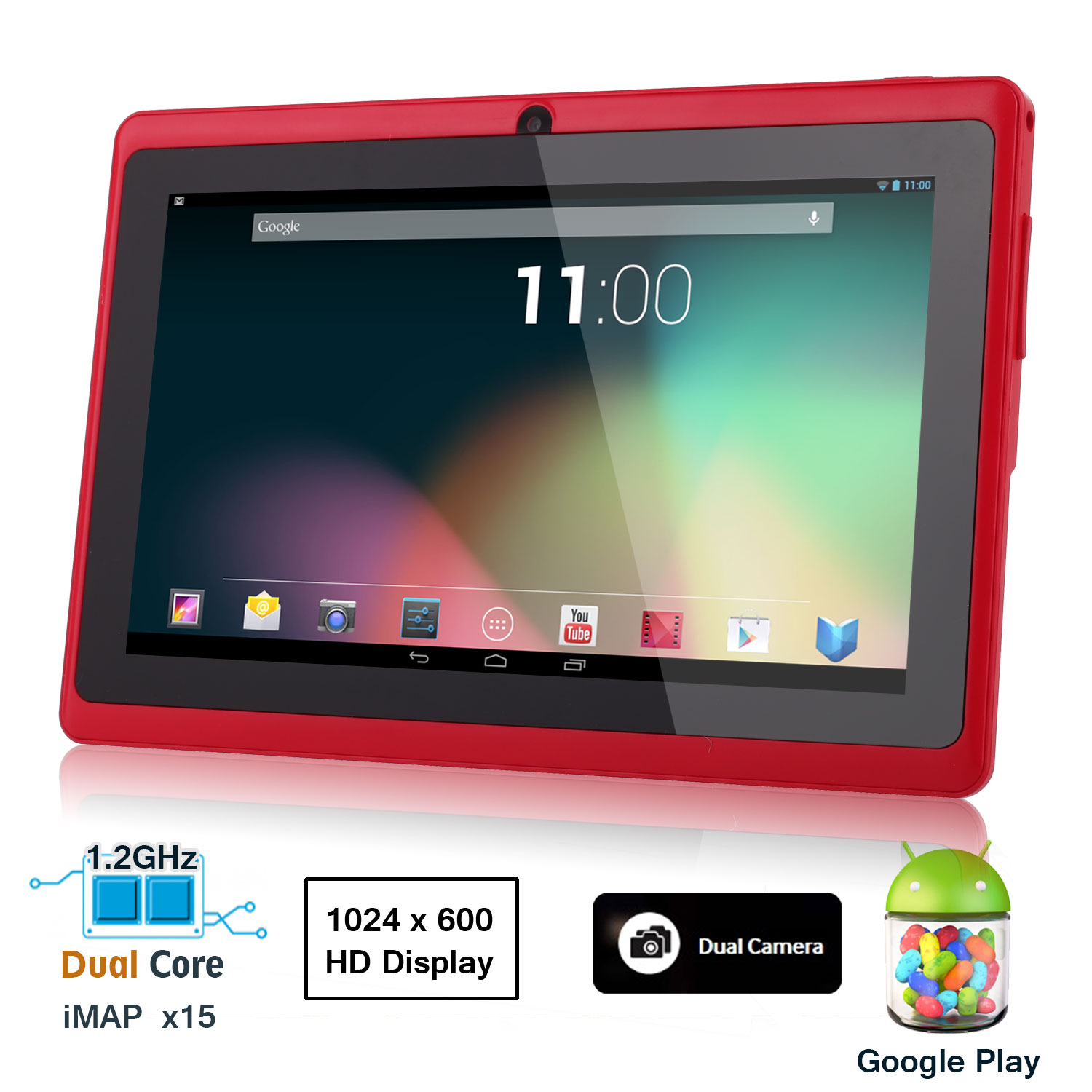 Details about 7'' Android 4.1 Tablet PC iMAPX15 4GB Capacitive Dual