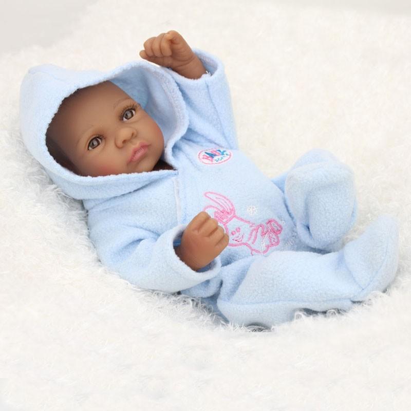 African American Baby Doll Black Boy Realistic Reborn