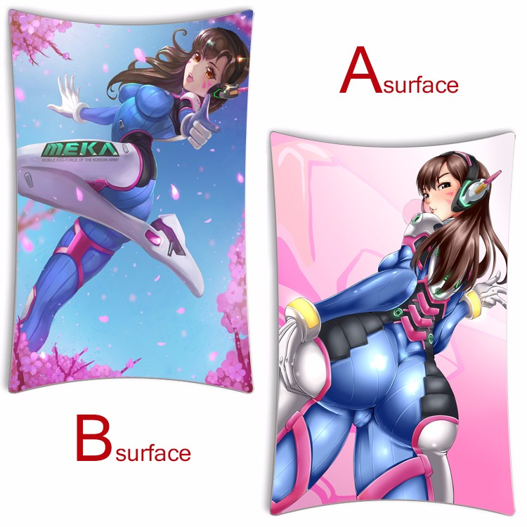 Game Overwatch Ow D Va Dakimakura Cute Bedding Pillow Case