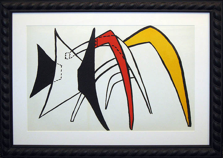 Alexander calder derriere le miroir 141 original for Maeght derriere le miroir