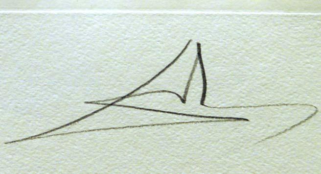 "Salvador Dali ""Le Cerf Malade""Hand Signed by Dali framed ..."