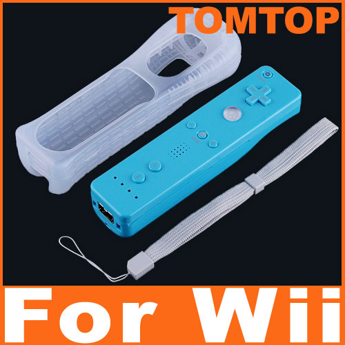Blue-Remote-Controller-Control-Silicon-Skin-For-Wii