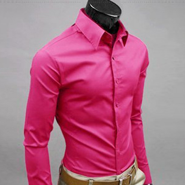 Dark Pink Colour Shirt | Is Shirt