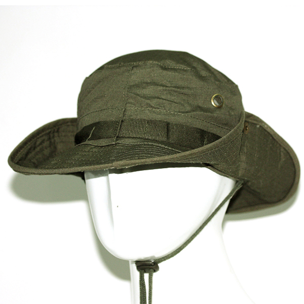 Land Rover Bush Hat Navy: New Men's Olive Green Plain Ripstop Army Military Boonie