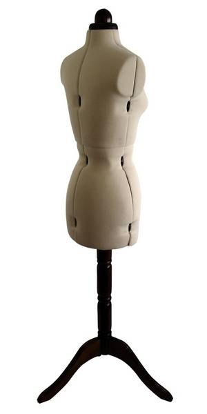 adjustable dress form mannequin size 10 16 dressmakers