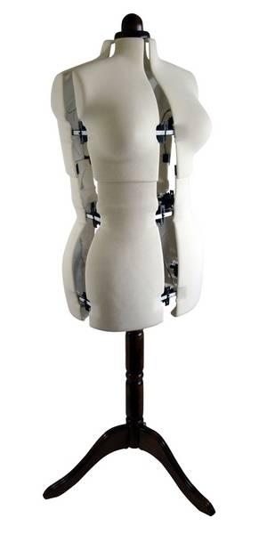 Dressmakers Dummy Size 16-22 Mannequin Adjustable Dress Form Model ...
