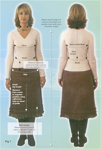 how to make your own dressmakers dummy
