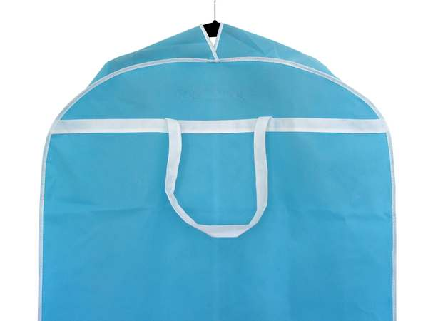 Wedding Dress Storage Garment Bag - Blue