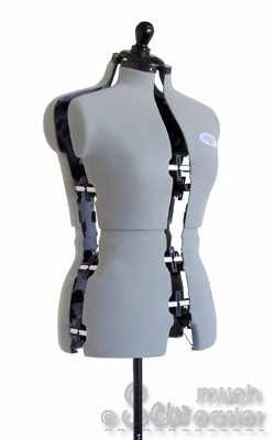 Dressmakers Mannequin Dummy Adjustable Dress Form Mannequins Size ...