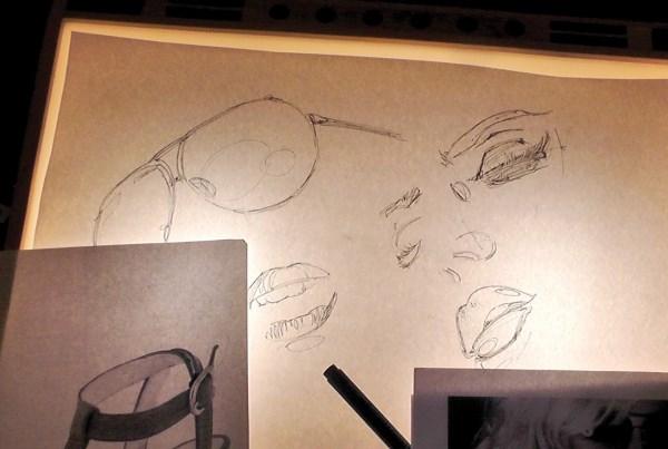 Light Box Pattern Tracing Pad Led A3 Lightbox Art Tattoo Design Stencil Drawing Ebay