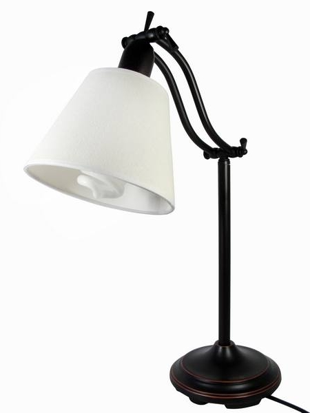 ott lite natural daylight desk table lamp ottlite bedside reading. Black Bedroom Furniture Sets. Home Design Ideas