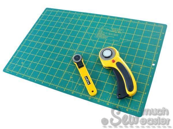 Rotary Cutter And Mat Drawing Note Olfa Rotary Cutters Not