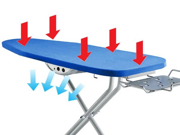 Singer Vacuum Suction Electric Ironing Board Steam Iron