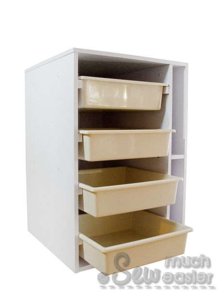 elementstailormade - sewing cabinet with drawers - tailor made