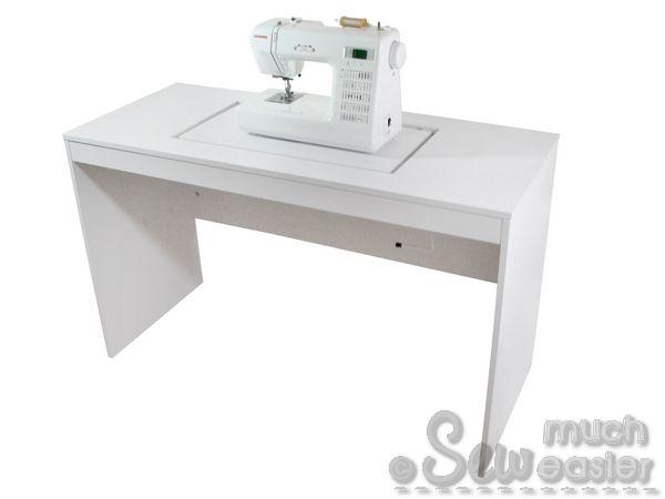 elements desk / drawers / storage + overlocker table