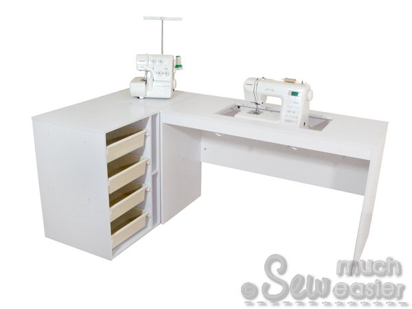 elementstailormade - sewing machine cabinet trio - tailor made