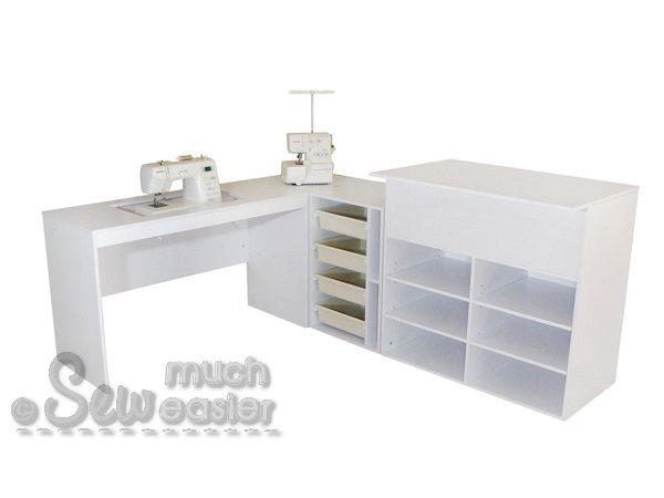 elementstailormade - sewing machine cabinet trio + cutting
