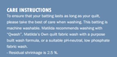 Wool Cotton Quilt Batting 30m Roll Matilda S Own Matildas