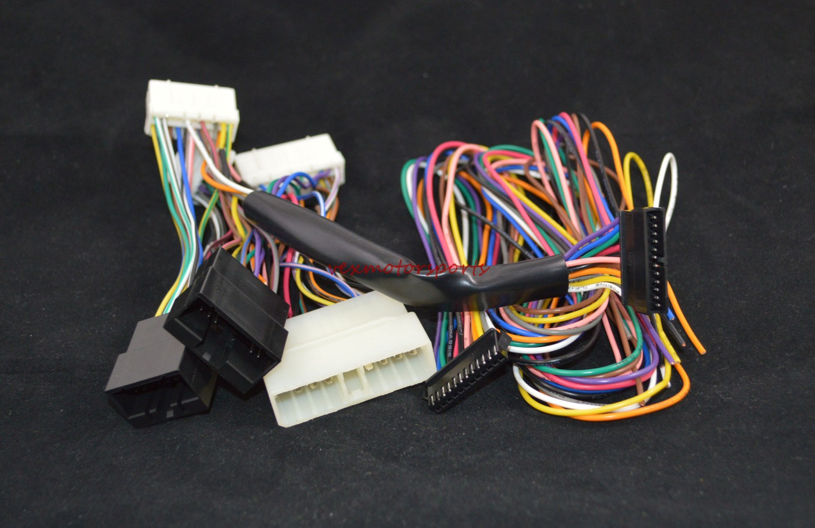 Ecu Wiring Harness Adapter Diagrams Ford Trailer Nnr Obd0 To Obd1 Conversion Jumper Adaptertrailerlites