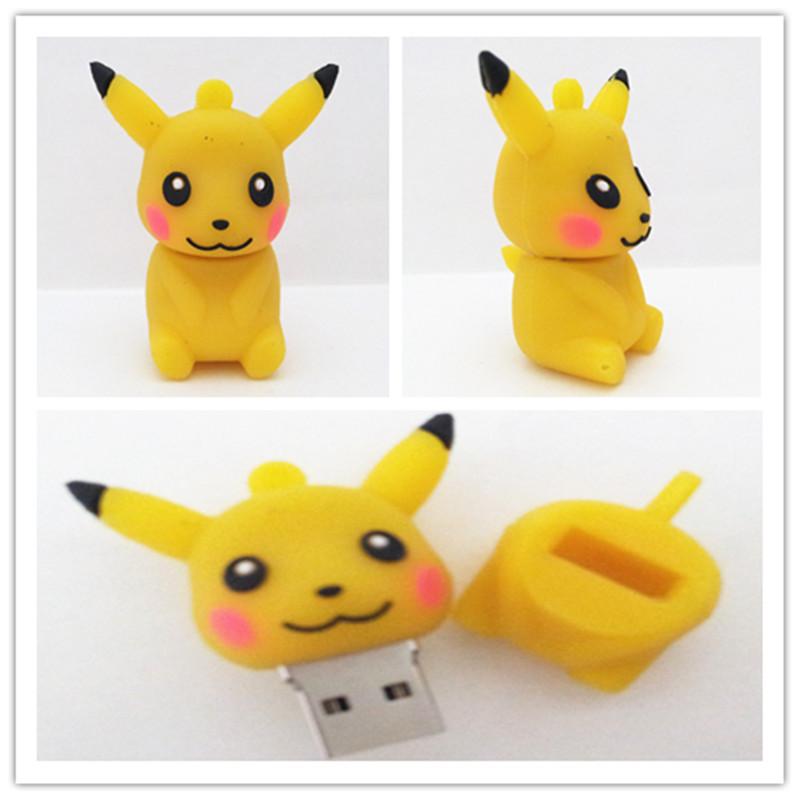 Yellow Pokemon Pikachu 2 0 Usb Flash Memory Pen Thumb Drive Stick 4 8 16gb Ms072 Ebay