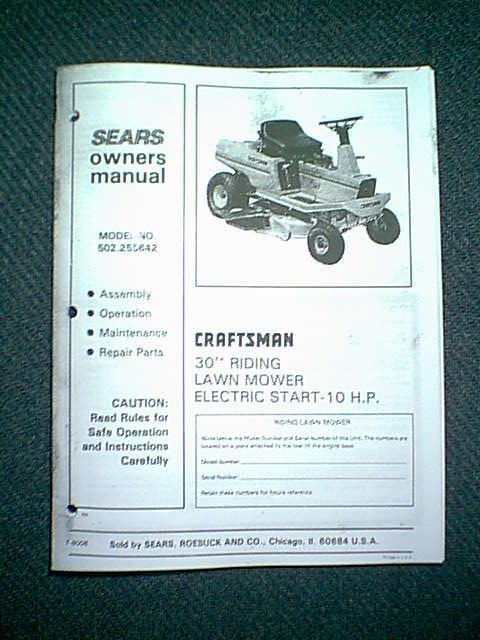 Contents contributed and discussions participated by patricia moore craftsman riding mower manual fandeluxe Image collections