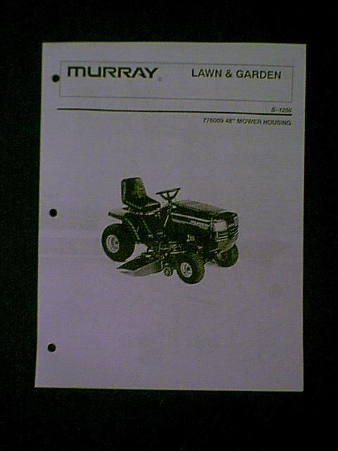 Murray Riding Lawn Mowers Manual - Ask Community