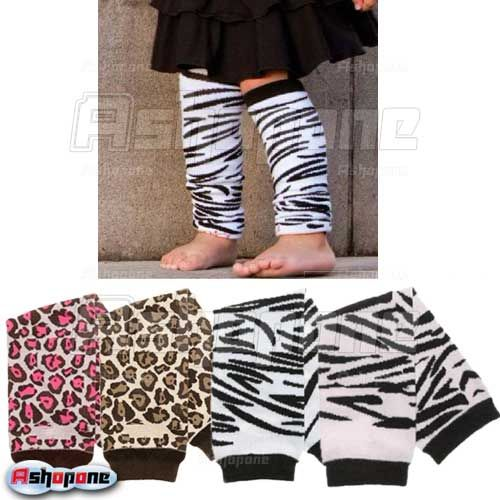 Baby-Infant-Toddler-Zebra-Leopard-Legging-Tights-Leg-Warmers-Socks