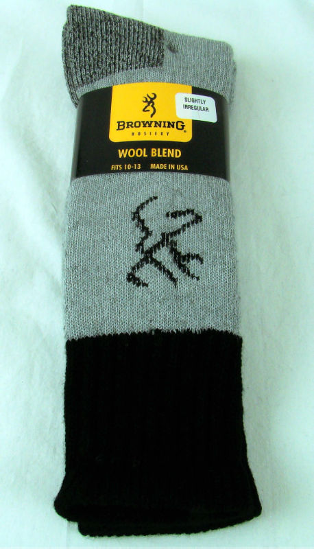 Imperfect Merino Wool Blend Hunting Boot Socks Size Large 10 13
