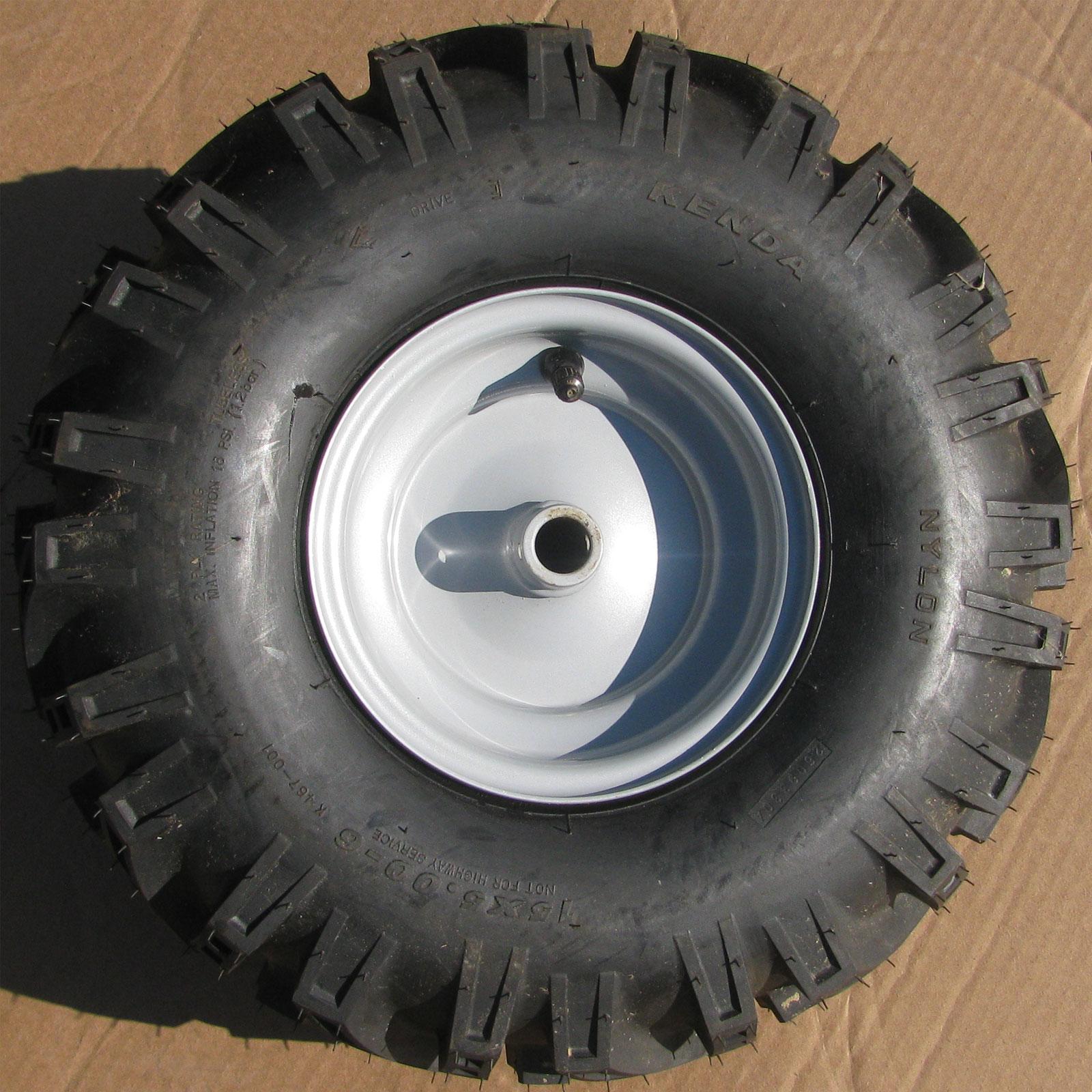 1 15x5 00 6 15 500 6 Snow Blower Thrower Tiller Tire Rim Wheel Assembly Right
