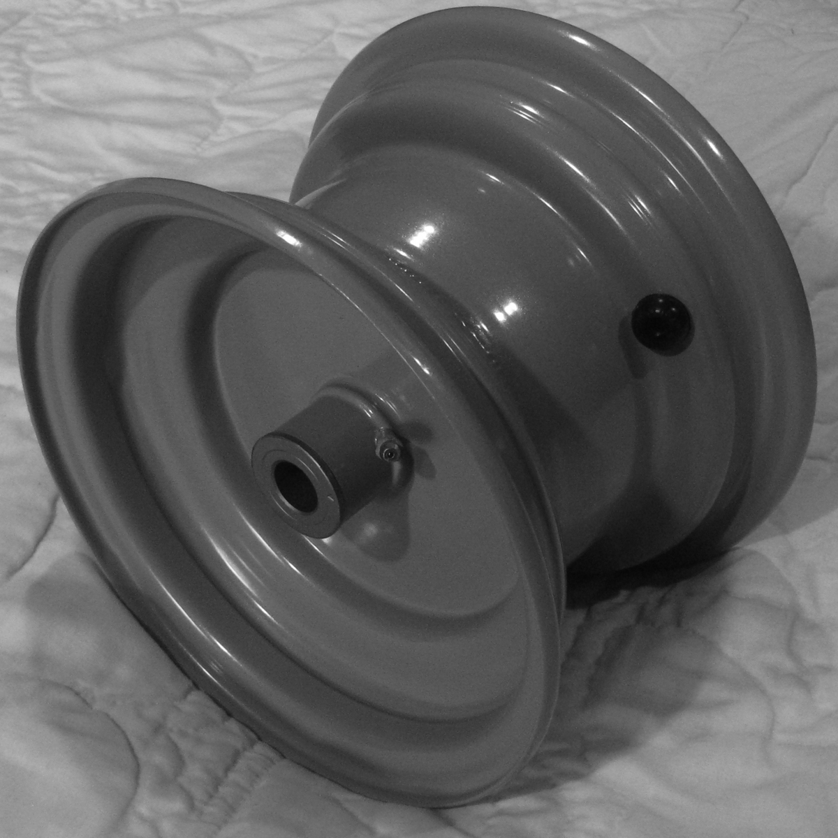 Lawn Mower Wheel Hubcaps : Quot rim wheel riding lawn mower garden tractor yard