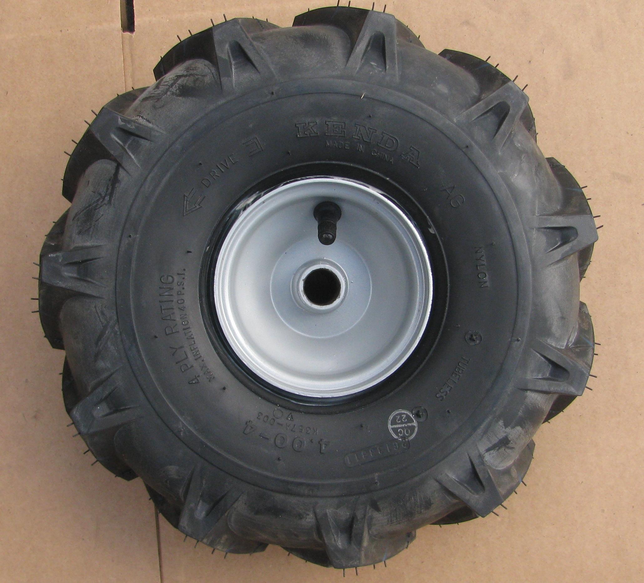 Tiller Tires And Wheels : Snow blower thrower tiller tire