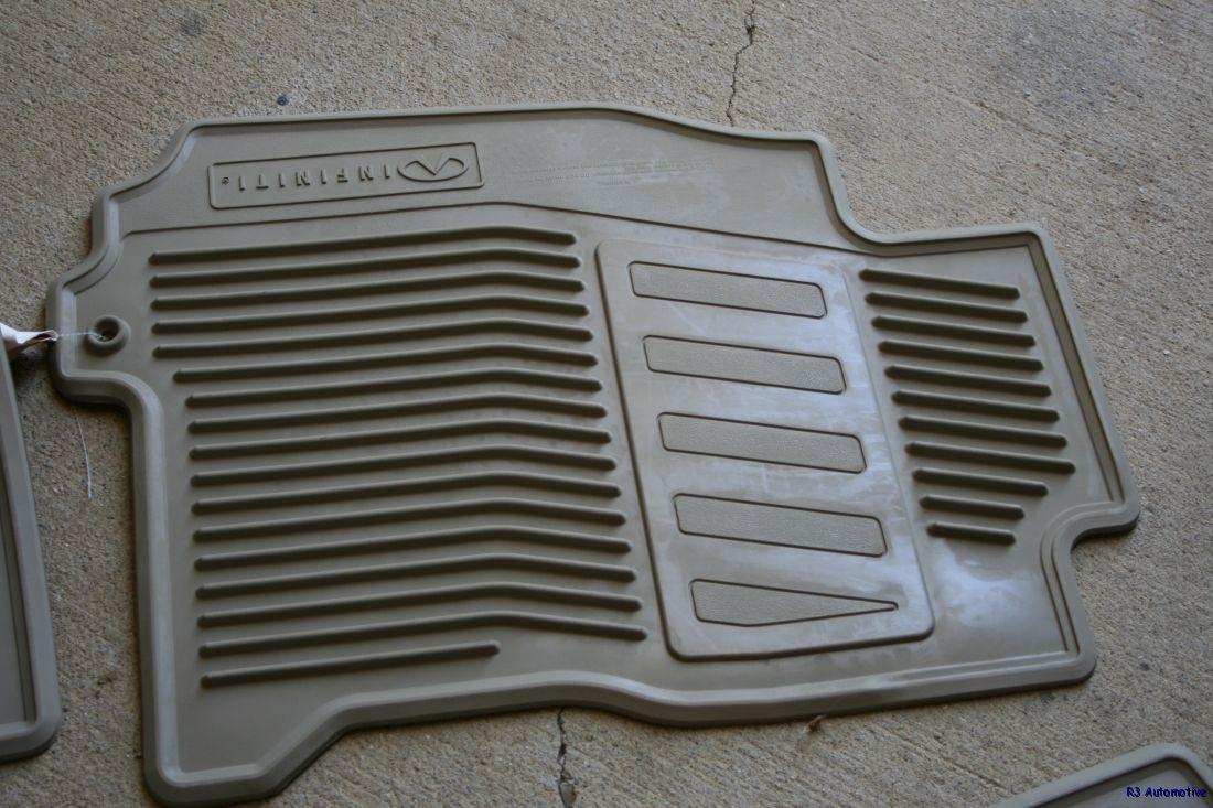 Infiniti qx60 rubber floor mats -