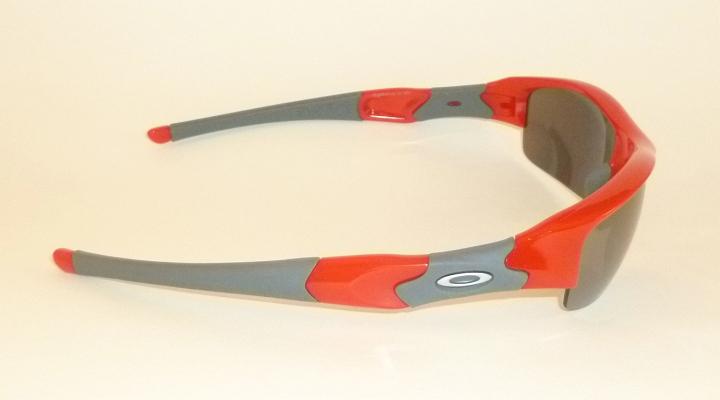 New Oakley Flak Jacket Sunglasses Infrared Frame 03 905