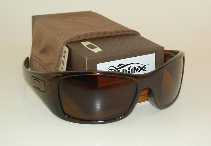 Classic Oakley Polarized Hijinx Glasses Black Frame Brown Lens