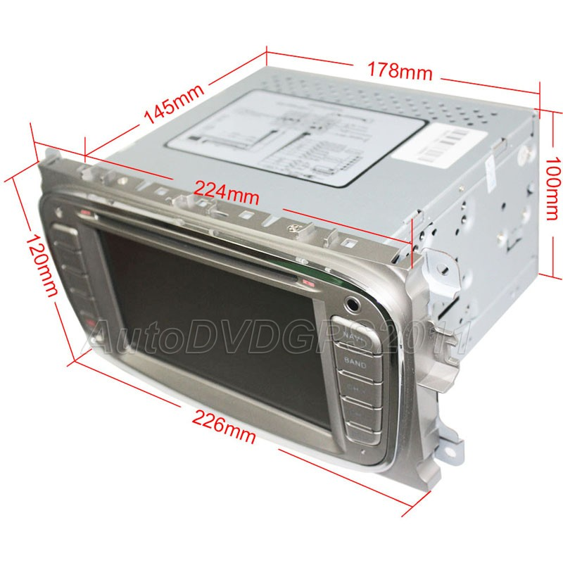 Car Radio DVD GPS Navi Fit Ford Mondeo s Max 2007 2008 2009 with Pip RDS BT