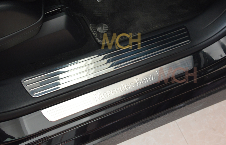 Door sill scuff plate for mercedes benz m class ml300 for Mercedes benz door sill