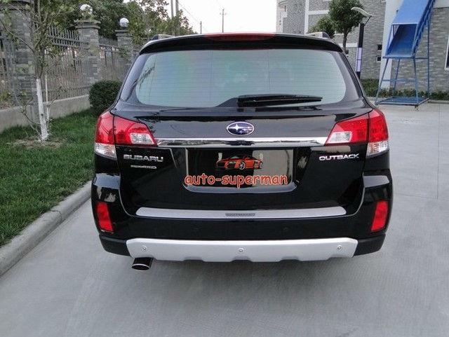 Outback Front Bumper : Aluminum alloy front rear bumper protector for subaru