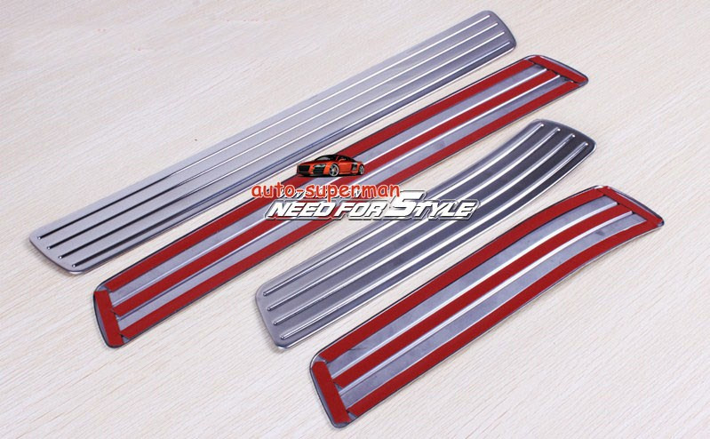Chrome Door Sill Scuff Plate Mercedes Benz M Ml350 Ml550