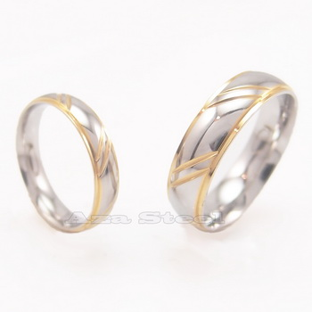 Men's Women's Silver Gold 4mm 6mm Stainless Steel Wedding Band Ring Size US 6-11 in Jewelry & Watches, Fashion Jewelry, Rings | eBay