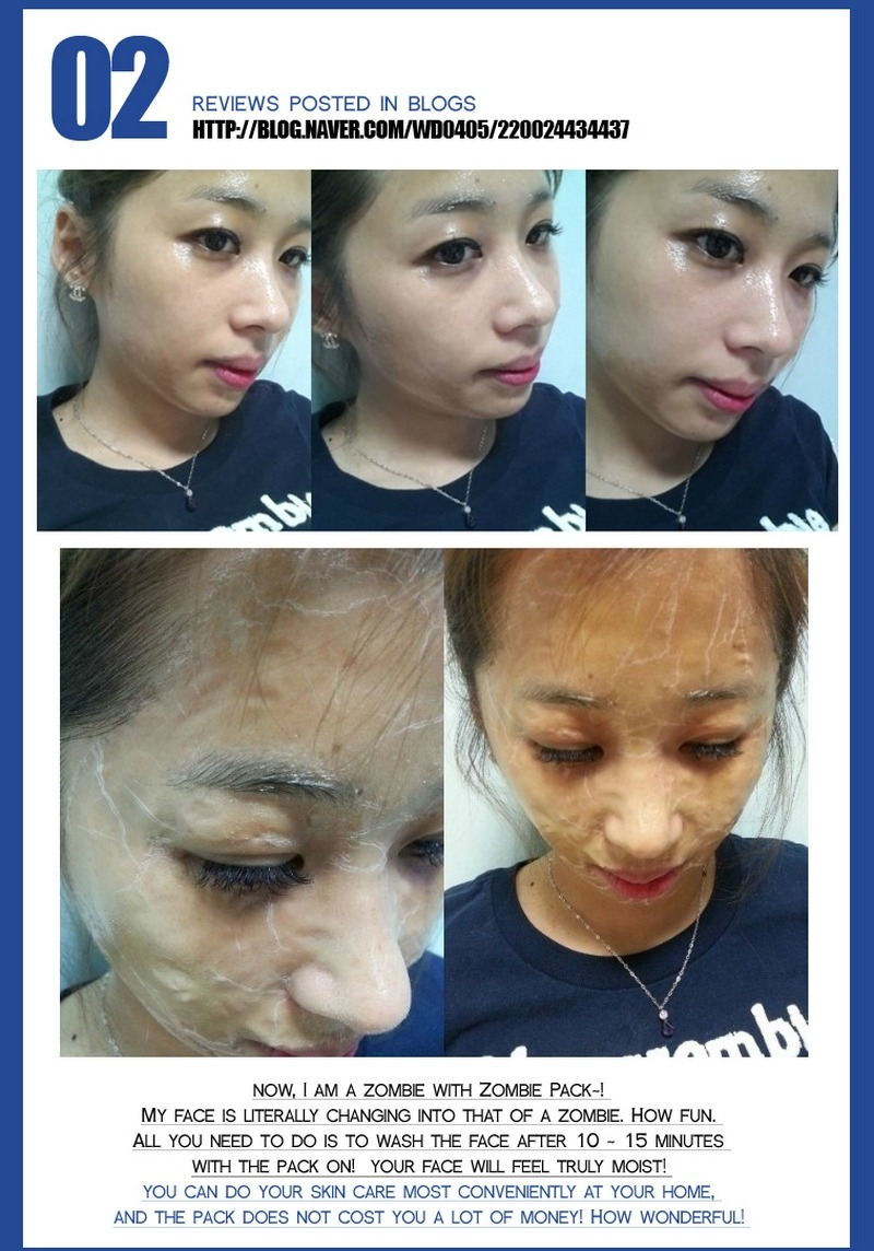 Jual Skin1004 Zombie Pack 16pcs Activator Kit Face Mask Peel Baju Hamil Import Ibk050a Payment