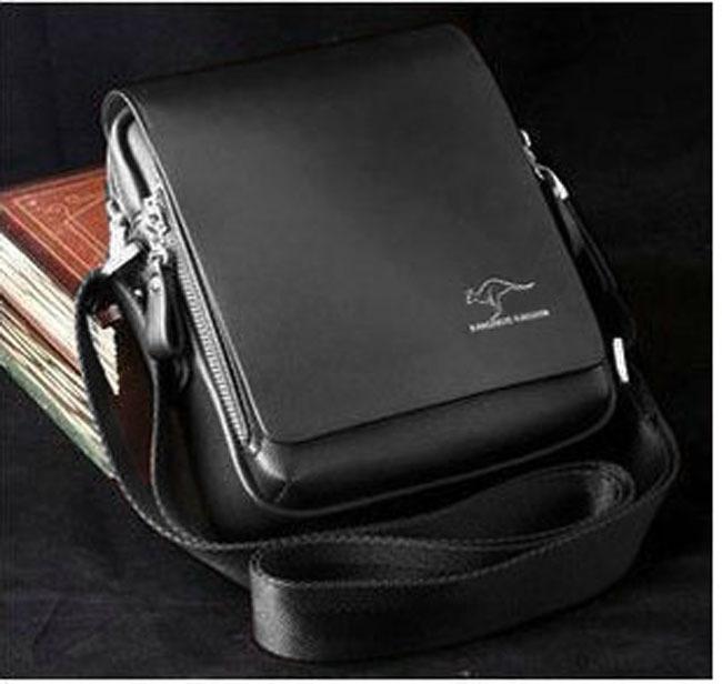 Authentic Kangaroo Kingdom Men's Genuine Leather/PU Small ...